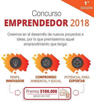 Concurso EMPRENDEDOR 2018