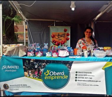 Oberá Emprende Presente en la Pre Fiesta del Inmigrante