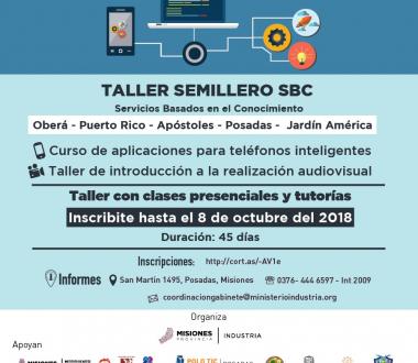 "Cursos de Capacitación en Informática ""Semillero SBC 2018"""
