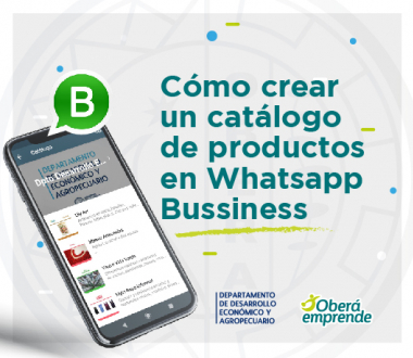Cómo crear un catálogo de productos en Whatsapp Bussiness