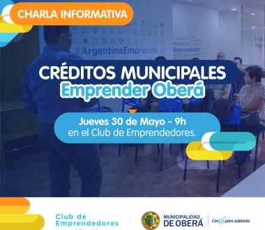 Programa de Créditos Municipales