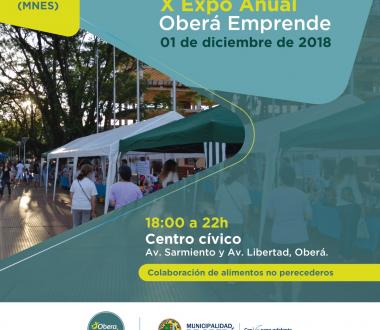 Expo Anual 2018 Obera Emprende